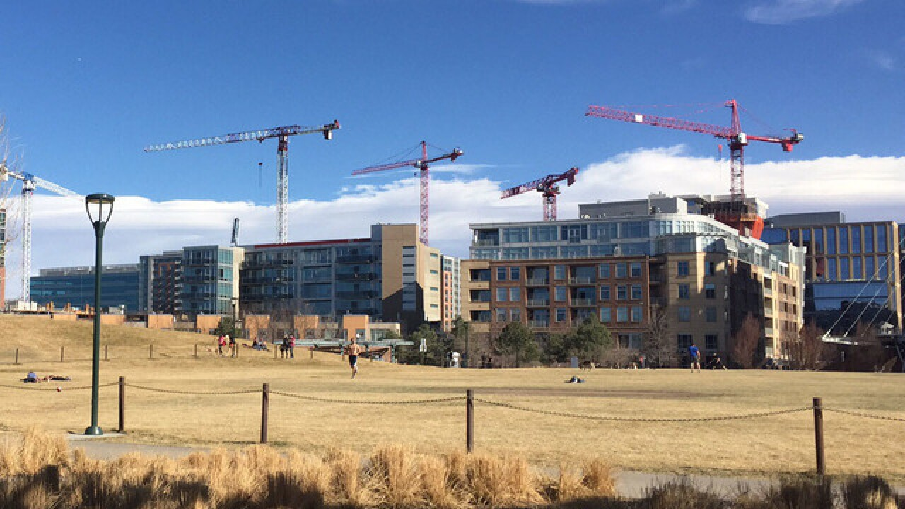 Downtown development bringing thousands of new residential units to Denver city center