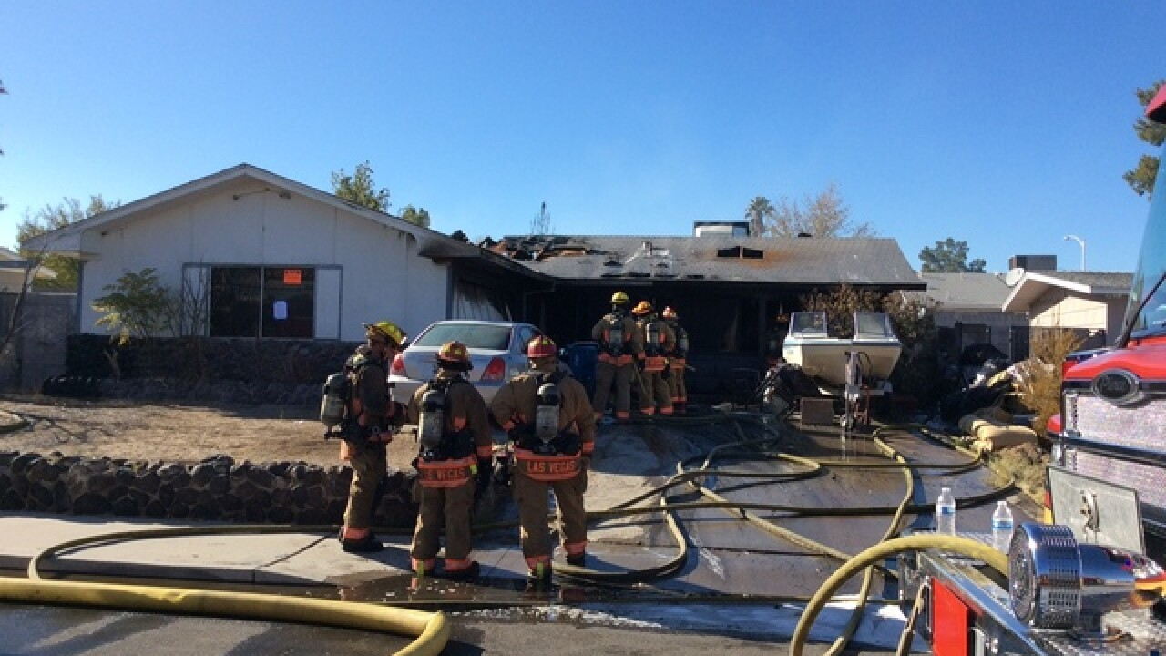 Patio fire causes $80,000 in damage to home