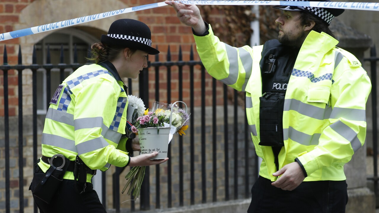 APTOPIX Britain Stabbings