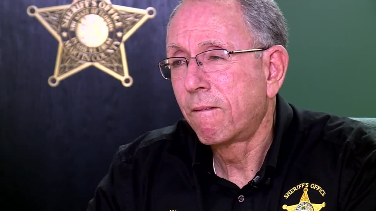 Martin County Sheriff William Snyder discusses sending deputies to southern border