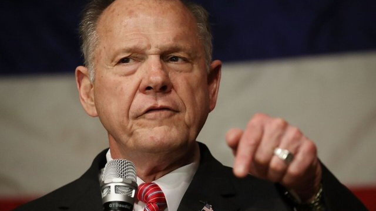 Former US Senate candidate Roy Moore countersues accuser