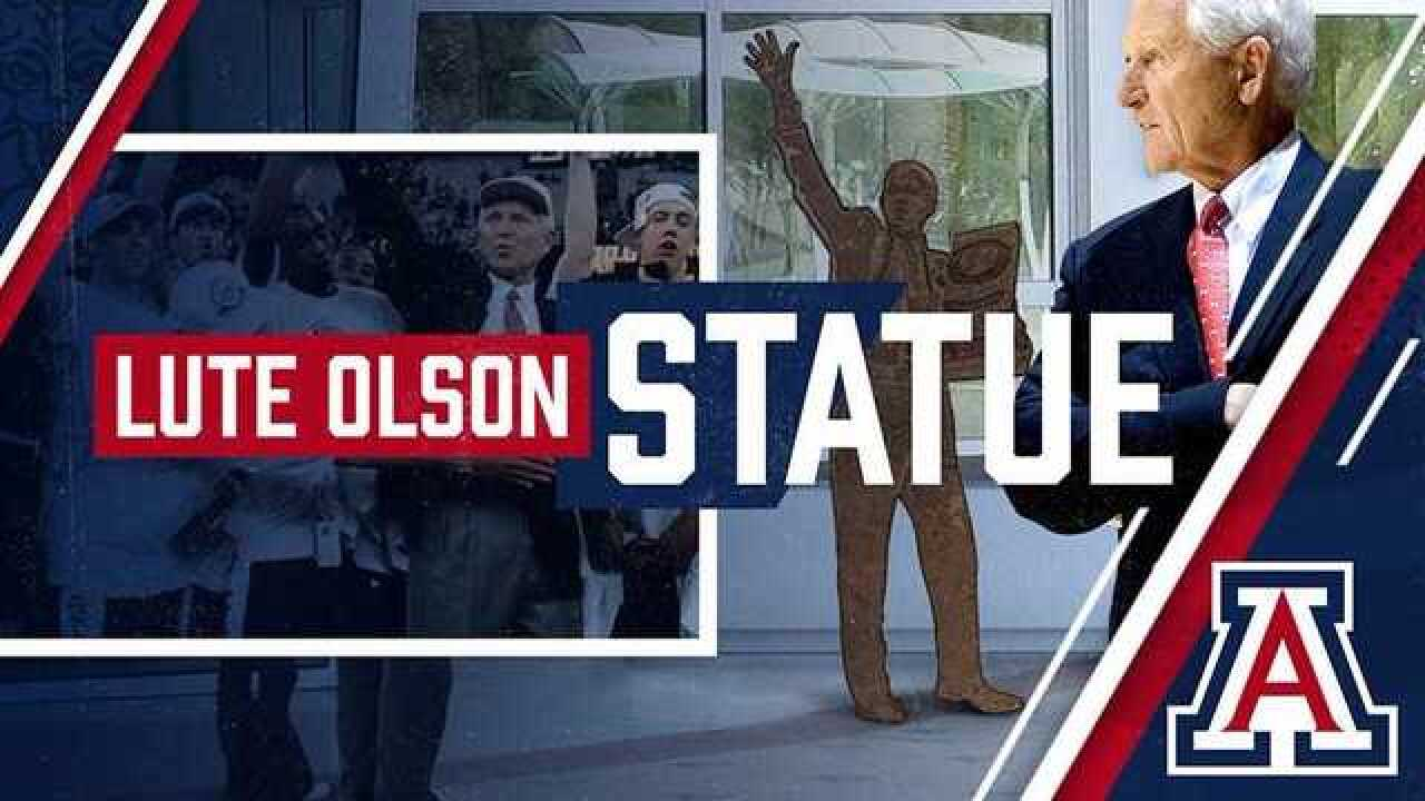 Arizona to Honor Lute Olson with a Statue