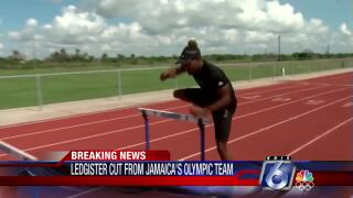 Leo Ledgister cut from Jamaica track team
