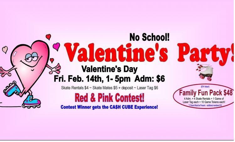 No School Valentines Party