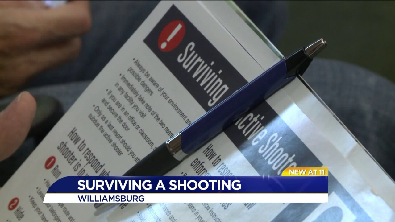 Class teaches how to survive an active shooting situation