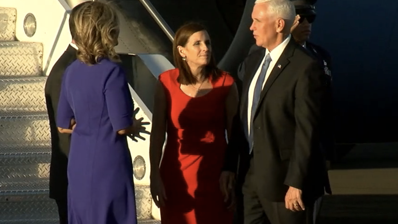 Vice President Mike Pence arrives in Phoenix 10-2-19