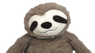 This Microwaveable Plush Sloth Smells Like Lavender And Helps Soothe Aches And Pains