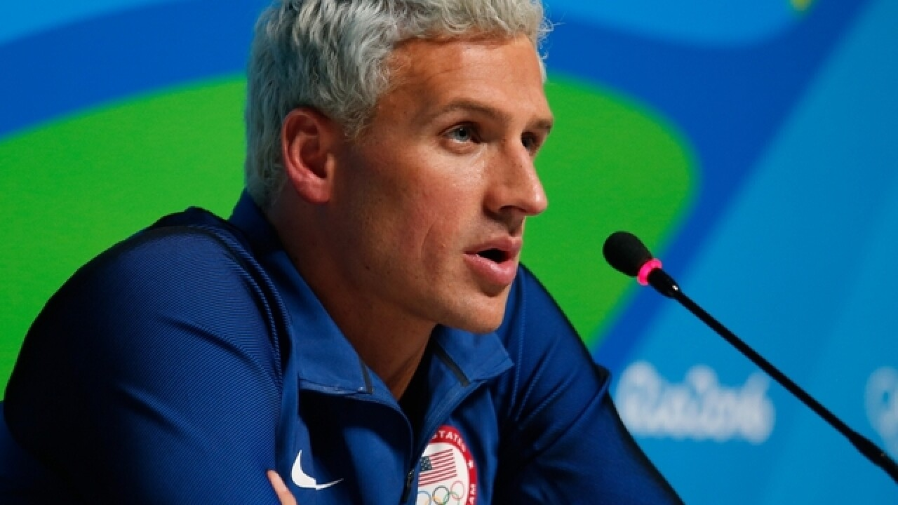 2 US swimmers leave Rio but scandal continues