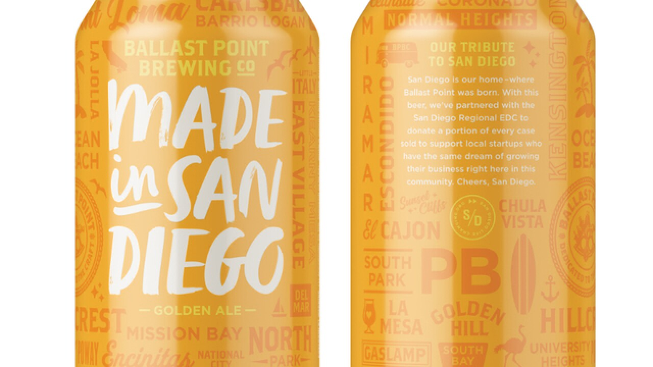 Ballast Point releases beer for small businesses