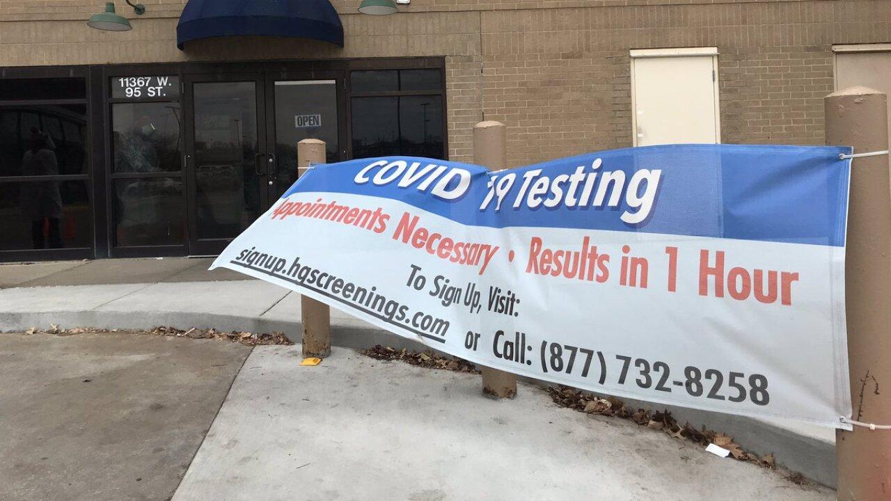 Health Gauge COVID testing