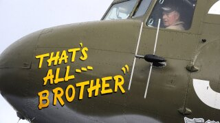 Restored warplane that helped lead the Allied ivasion on D-Day is headed back to Europe