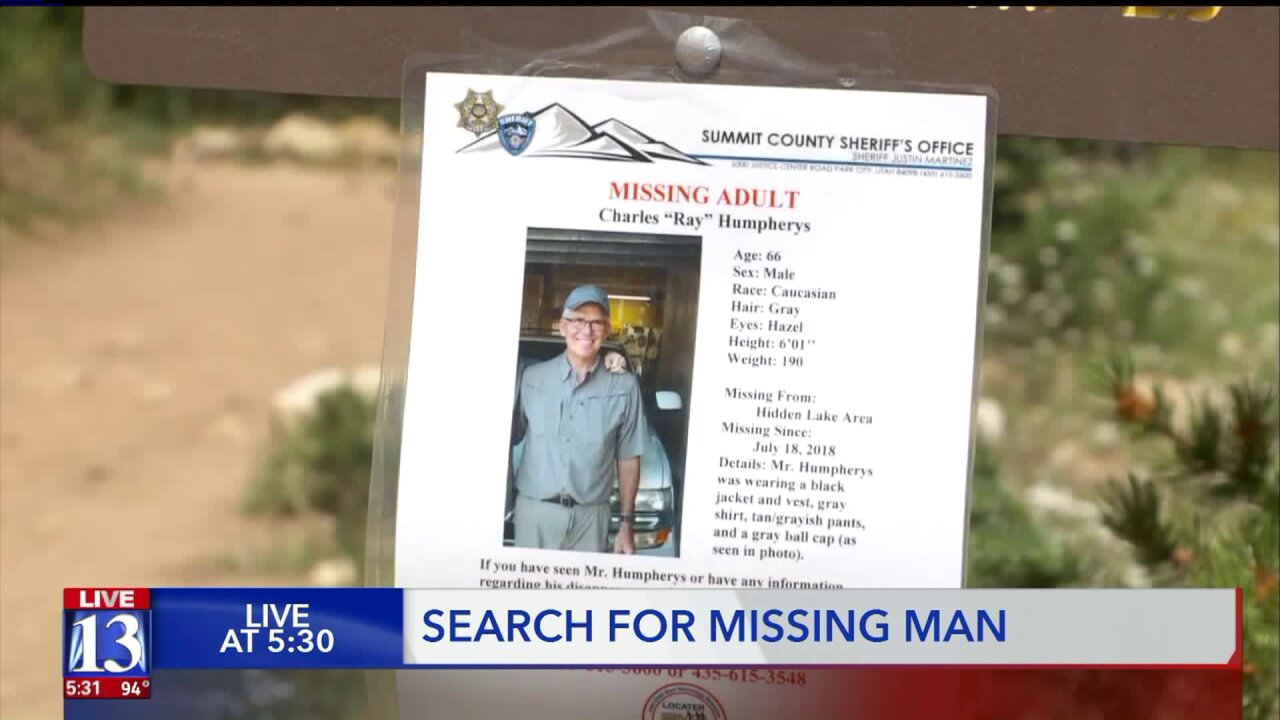 Volunteers finish up last day of searching for missing66-year-old