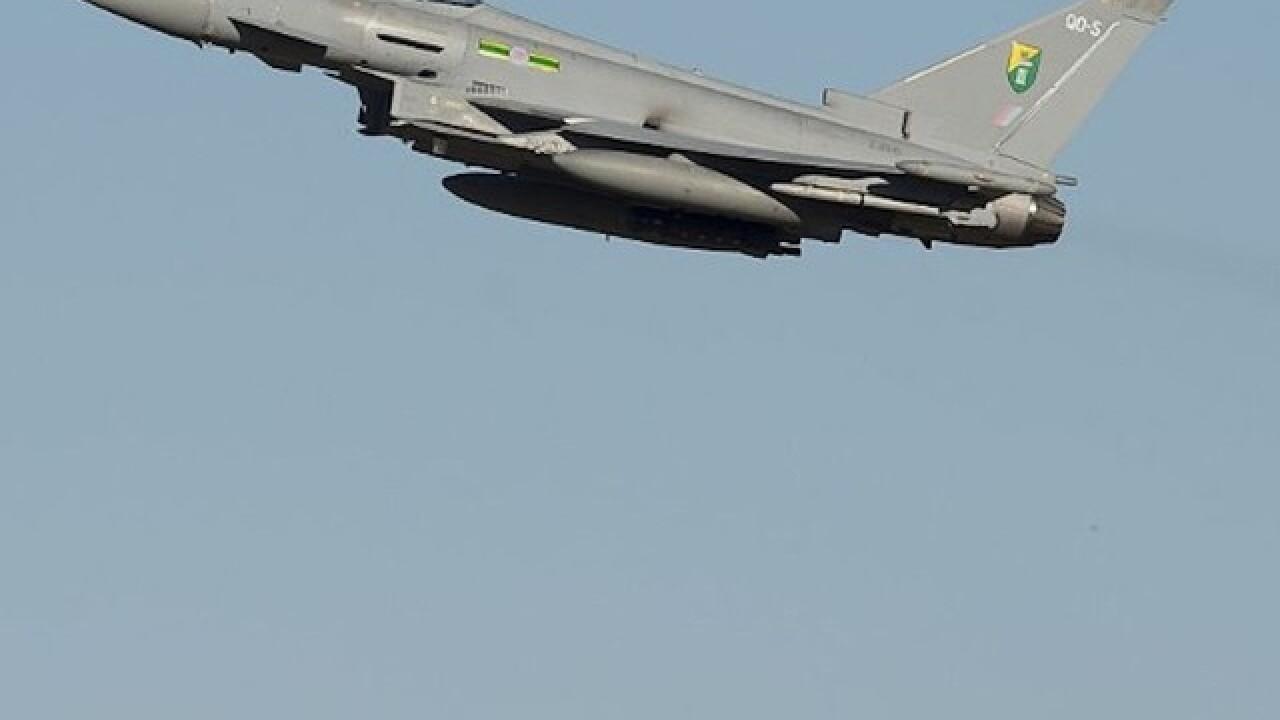 UK fighter jets intercept Russian bombers over North Sea