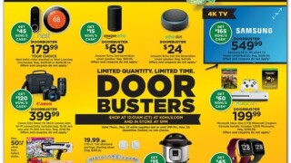 Kohl's Black Friday 2018 ad is out