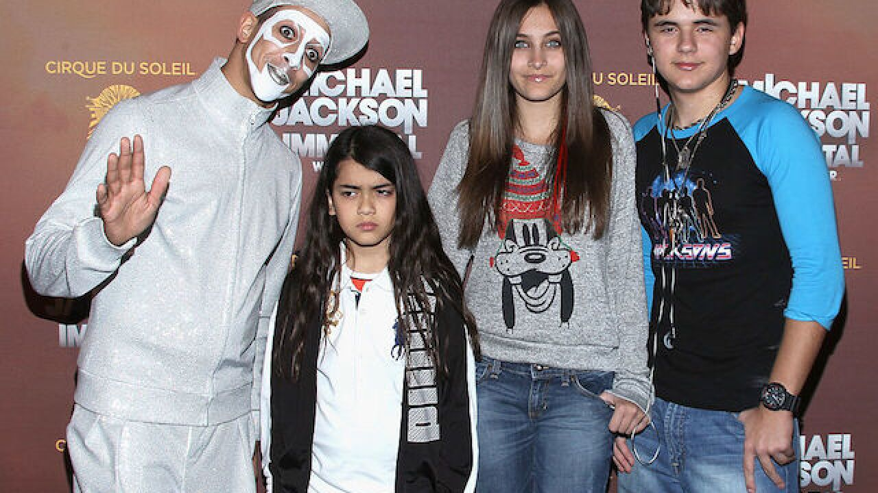 Michael Jackson's son opens up on GMA