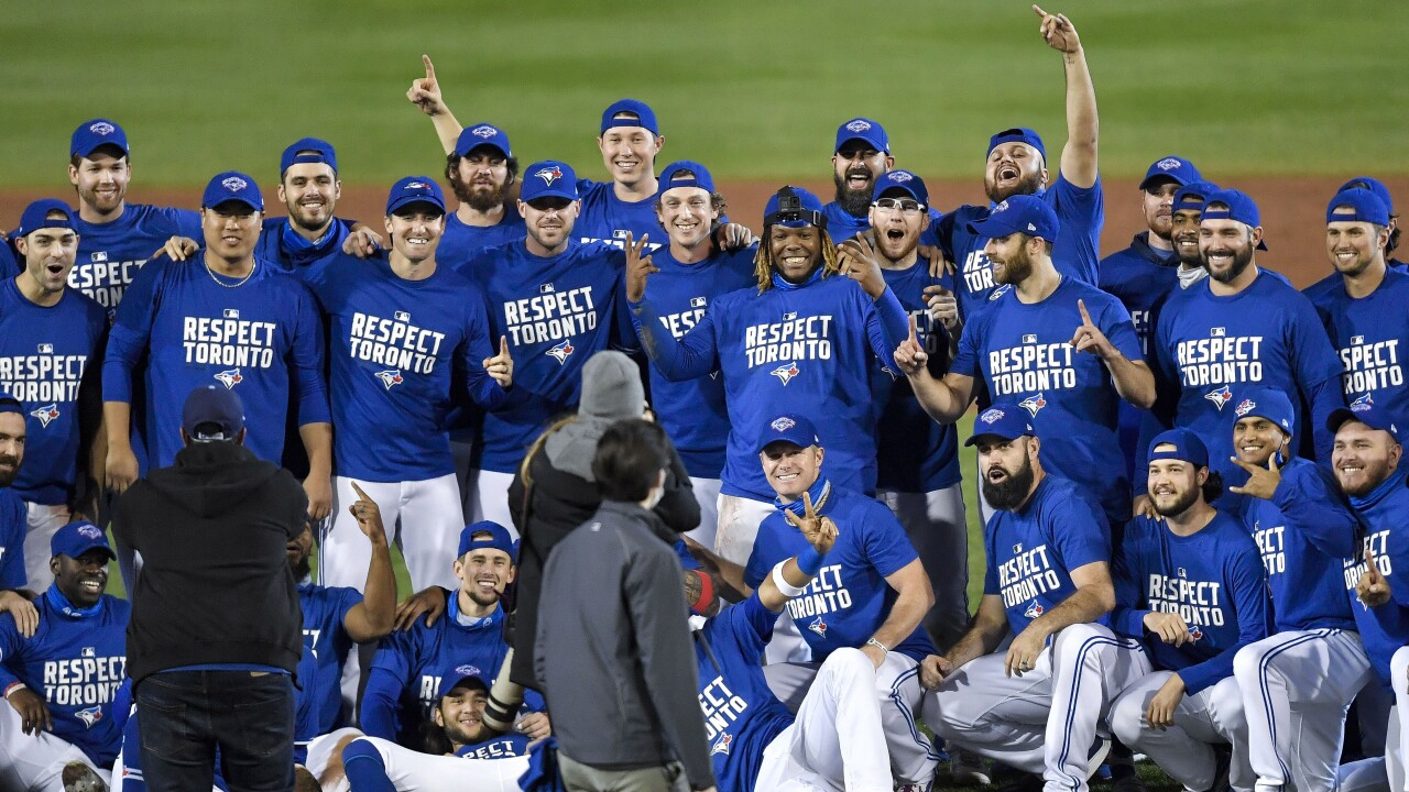 Blue Jays clinch playoff spot in Buffalo