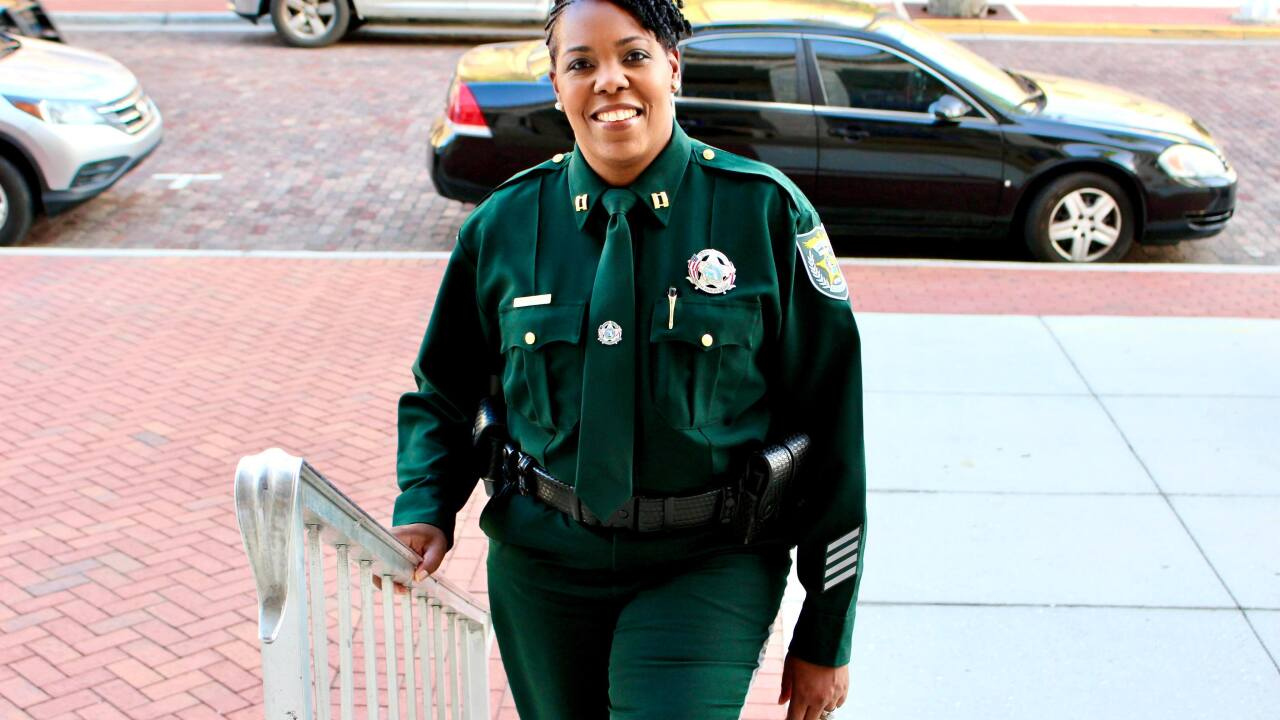 Tabbatha Carter will now serve as operations captain for the Charlotte County Sheriff's Office