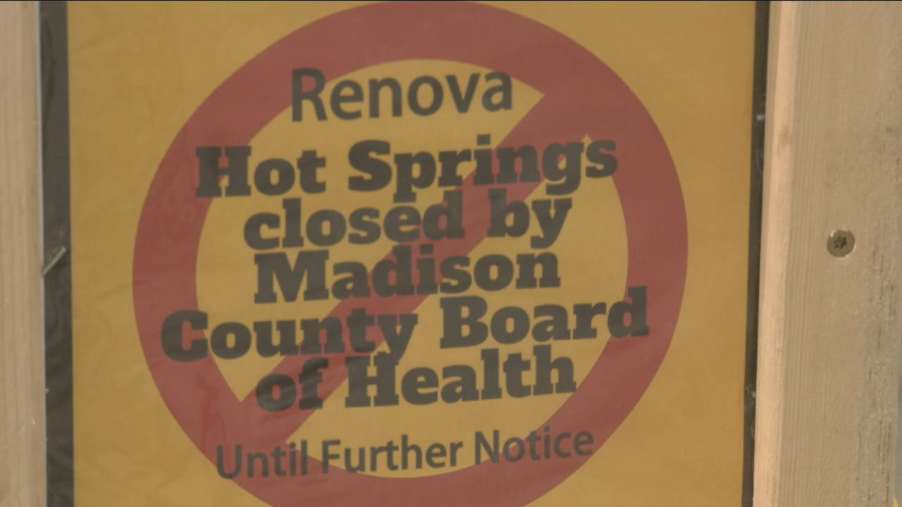 Madison County Sheriff department responds to more complaints about illegal use of Renova Hot Springs