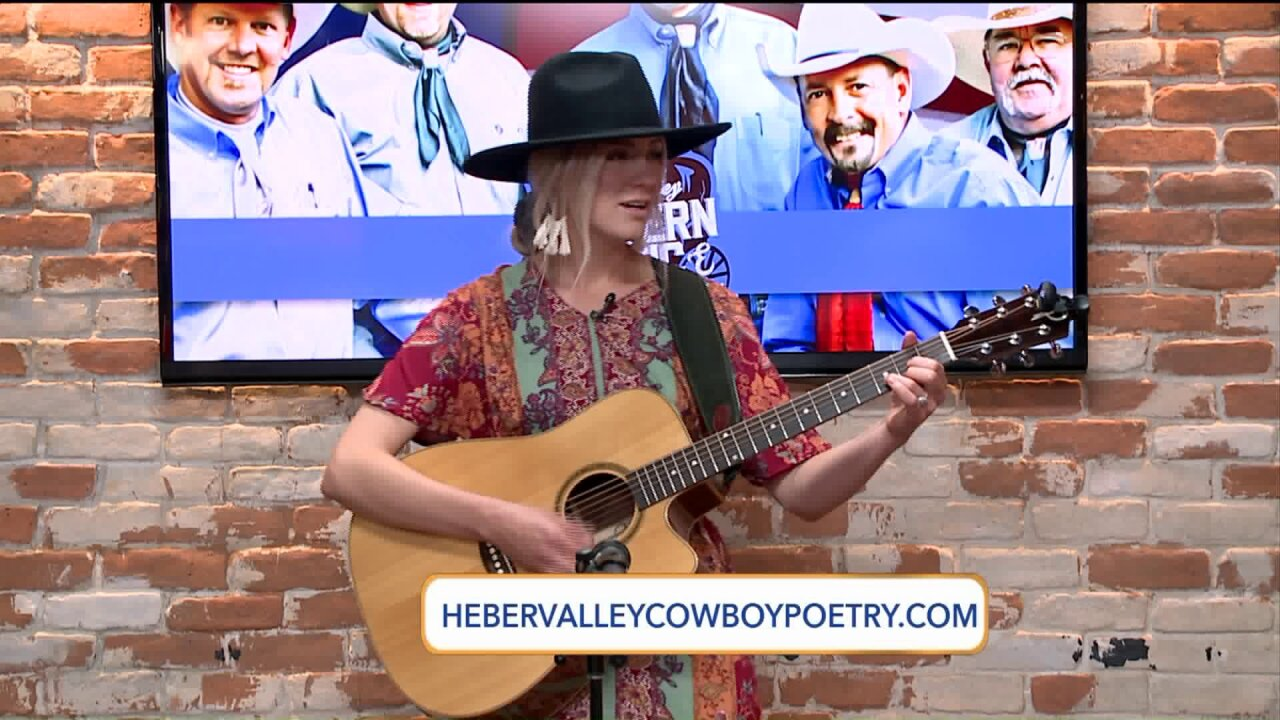 It's the 25th year of the Heber Valley Western Music and Cowboy Poetry Gathering