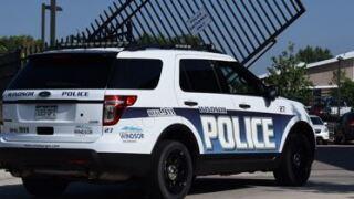 Windsor police car_July 7 2020 hotel shooting