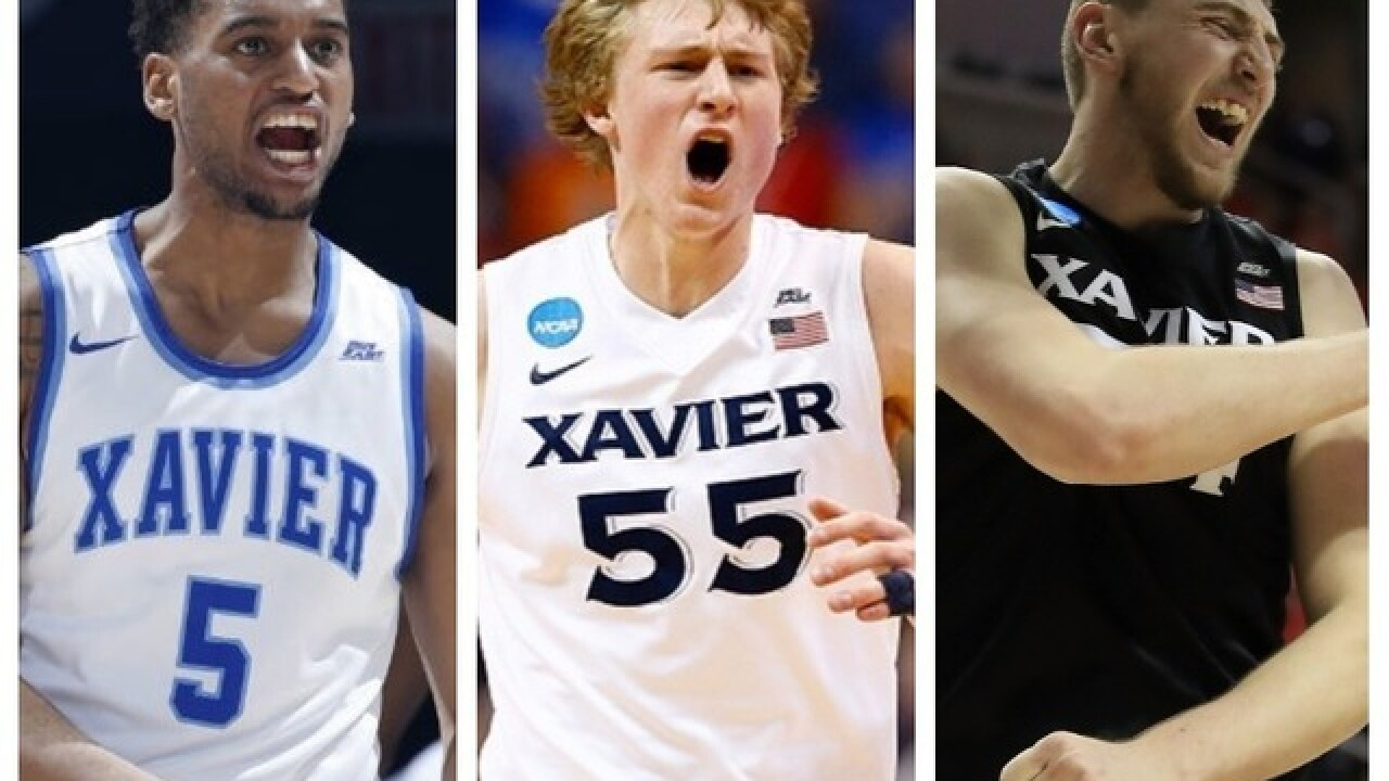 Trevon Bluiett, J.P. Macura and Sean O'Mara make Xavier history