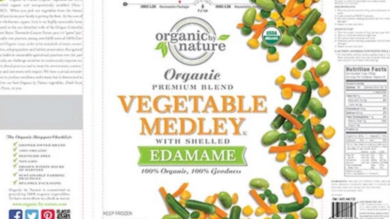 Alert: Frozen veggies, fruit recall expands