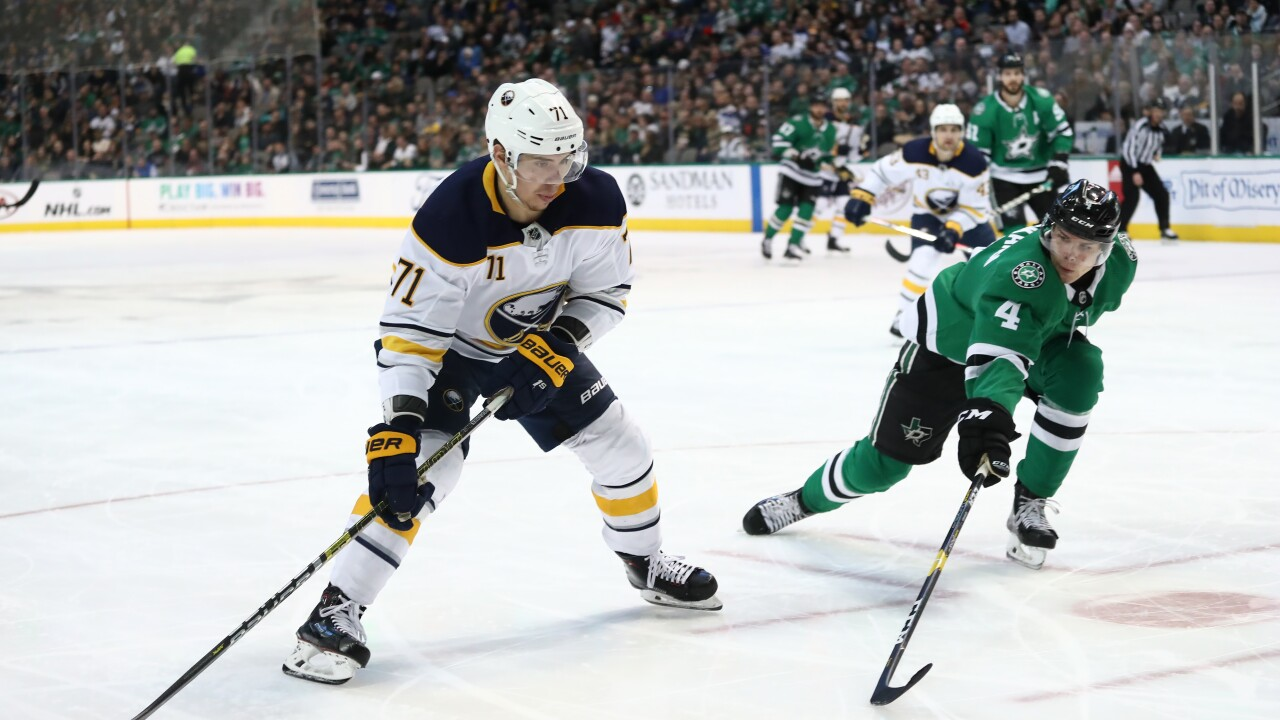 dee44785d 5 Observations: Sabres offense sputters in 1-0 loss to Stars