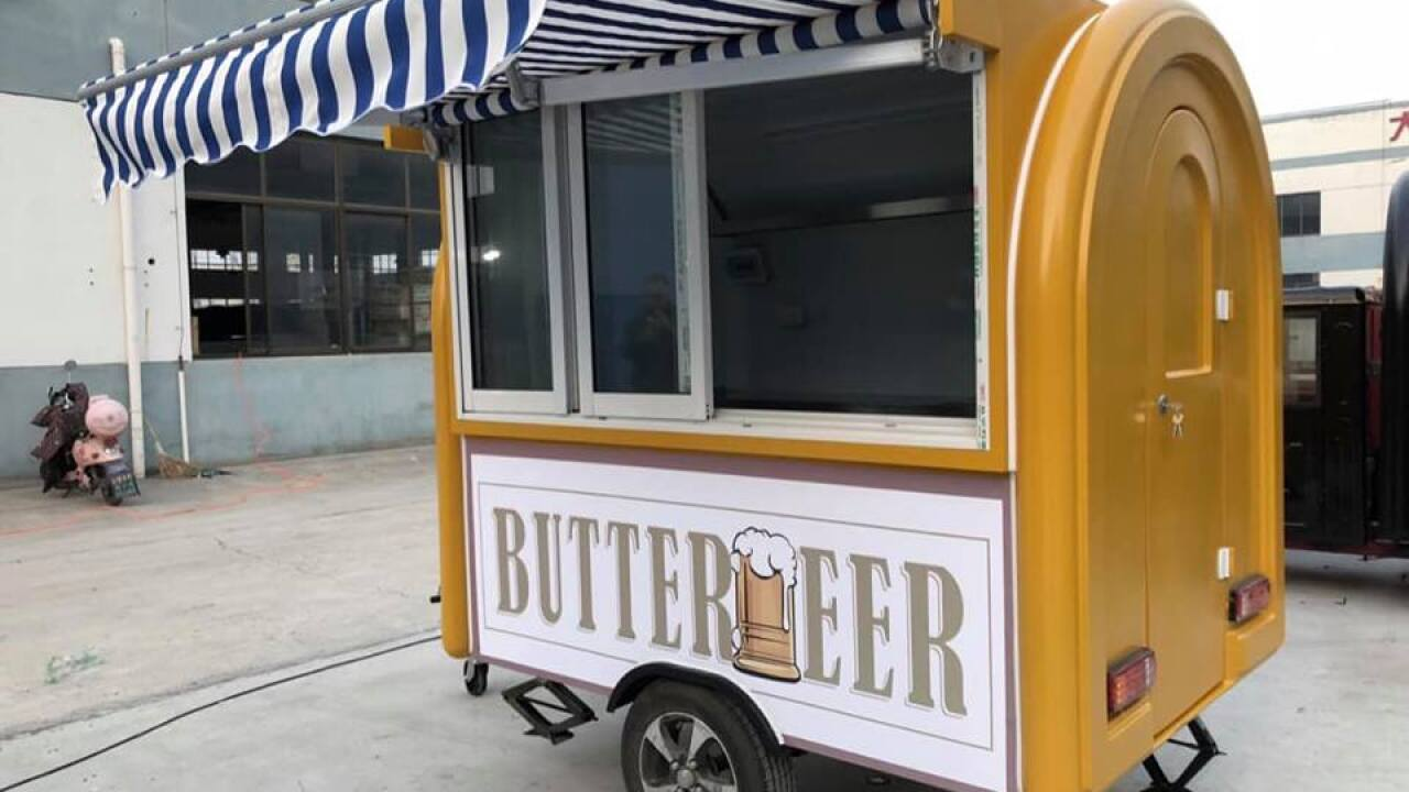 New Harry Potter-themed 'butterbeer' cart arrives in Utah