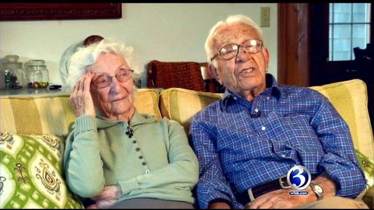 The longest married couple in the country has marriage advice for you