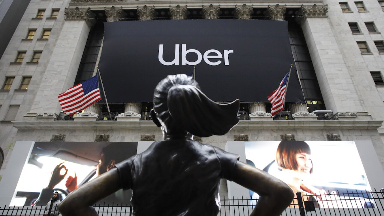 APTOPIX Financial Market Uber IPO