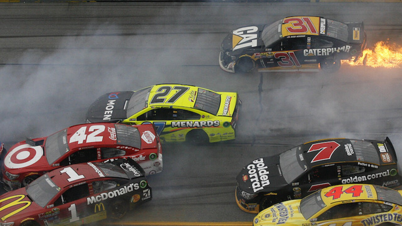 Talladega: Keselowski wins crash-filled race