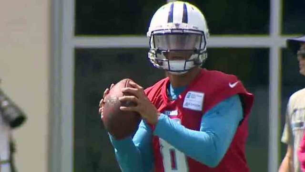 Excitement High As Mariota Looks Sharp At Camp