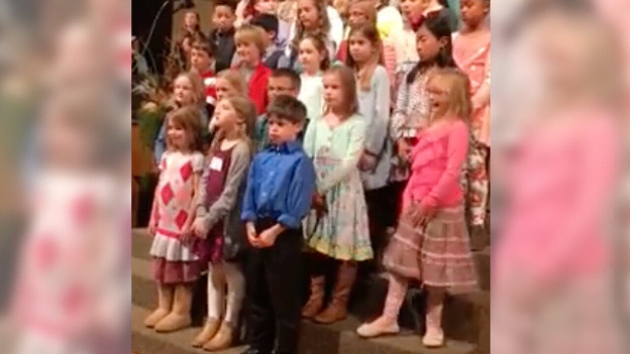 6-Year-Old Captures Heart Of Internet In Viral Choir Performance