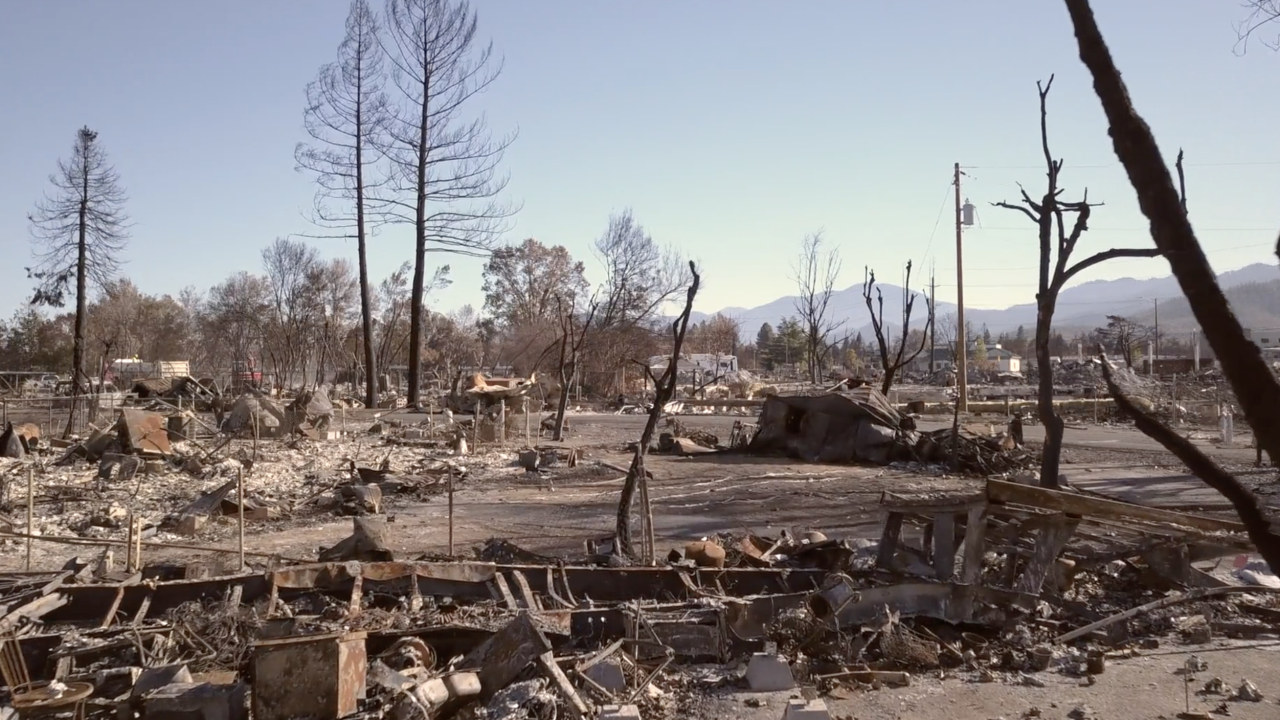 Voters fight through wildfire challenges to vote