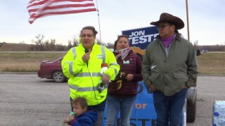 Crow Tribe members protest chairman's endorsement of Matt Rosendale