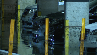 Vinoy Parking Garage Floods