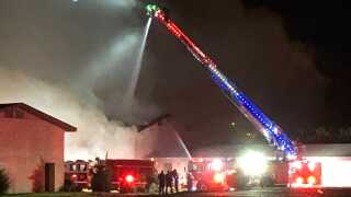 Carrousel Inn Suites fire