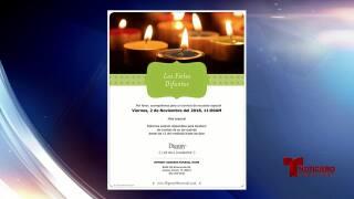 Misa especial para el día de los muertos en funeraria Memory Gardens