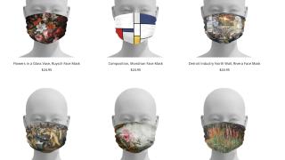 DIA selling art-inspired face masks during coronavirus pandemic