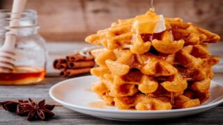 Pumpkin Spice 'chaffles' Are Keto-friendly