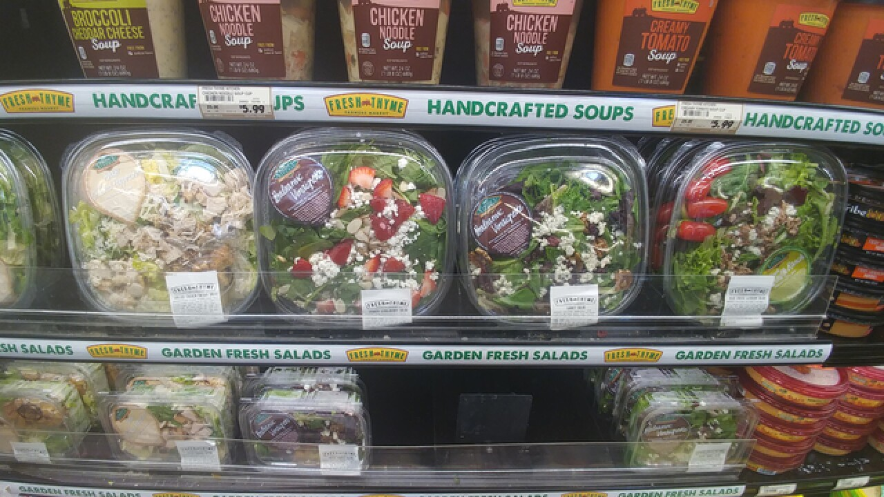 Healthy fast-food options are growing quickly