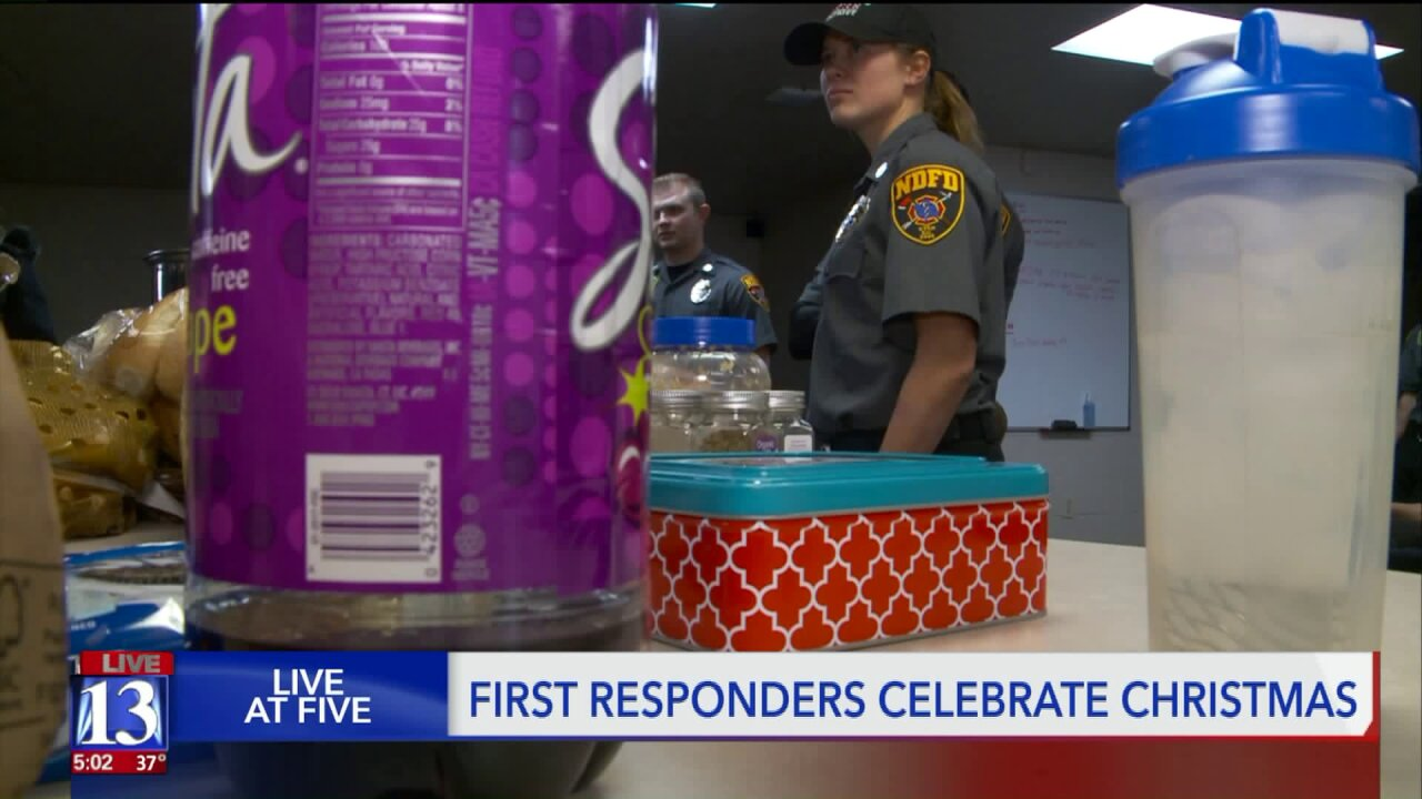 How first responders make working on Christmas merry andbright