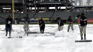 Tigers-White Sox rained out, will play 161 games this year