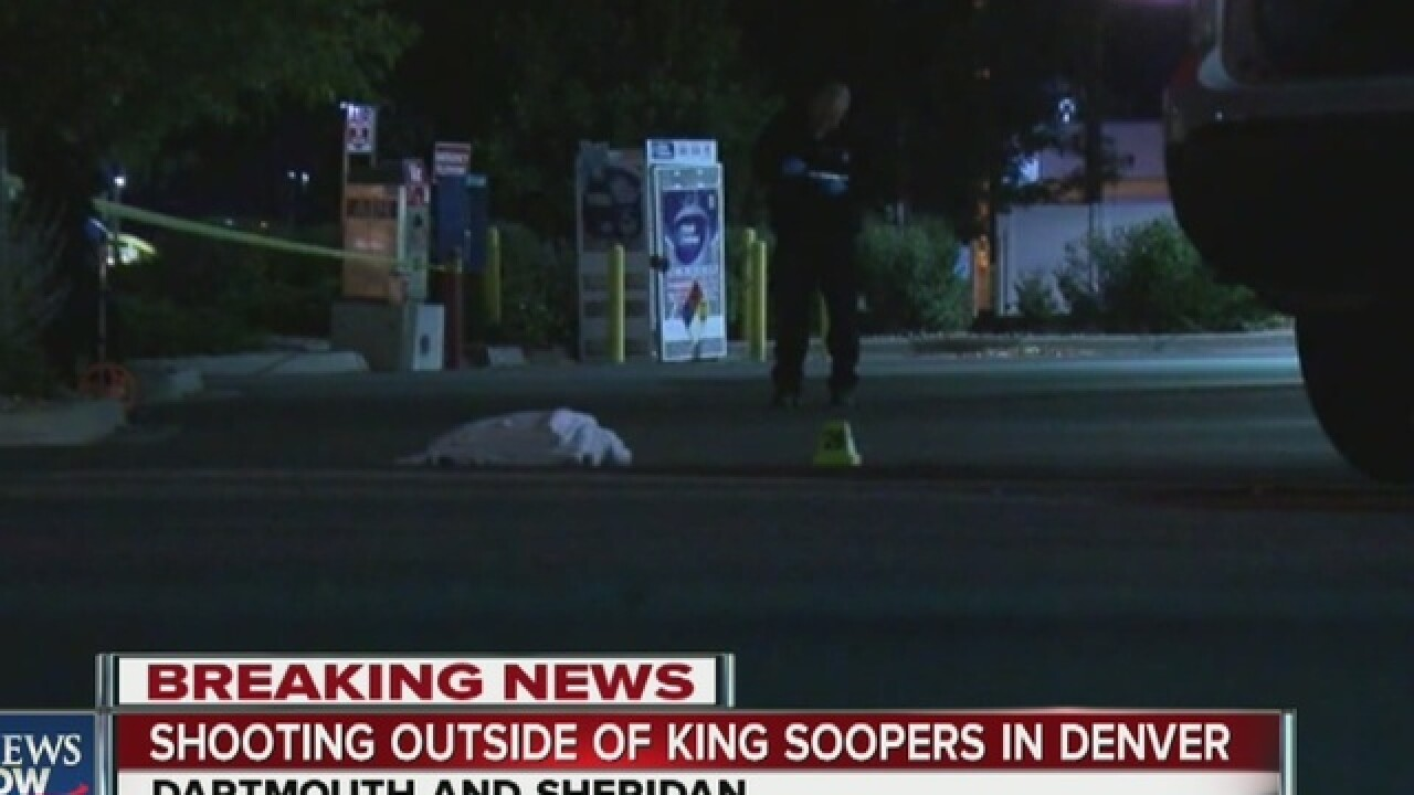 Man shot and killed near Denver King Soopers