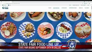 New State Fair of Texas foods set to be unveiled