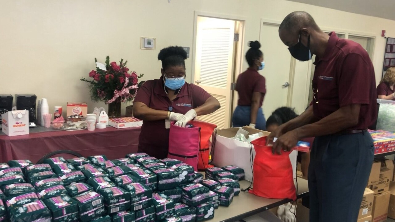 Superintendent Robert Runcie takes part in the Day of Service and Love on Feb. 12, 2021.jpg