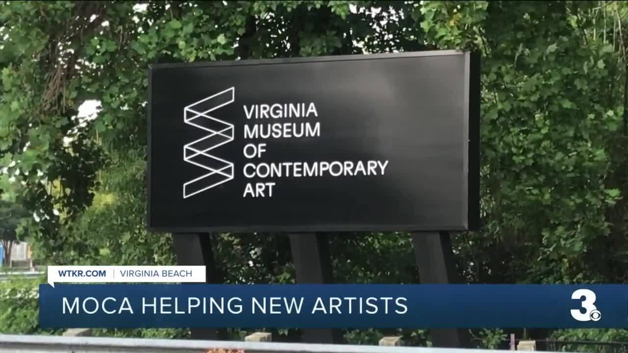 MOCA helping new artists.jpg