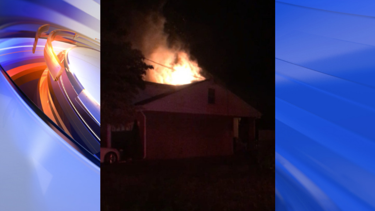 2 people displaced after Chesapeake house fire
