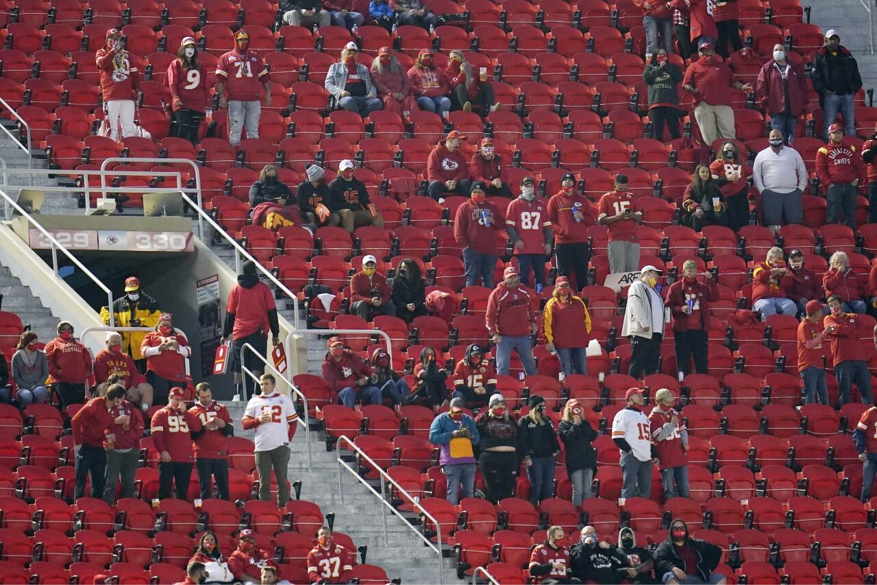 Virus Outbreak-Chiefs Fans Football