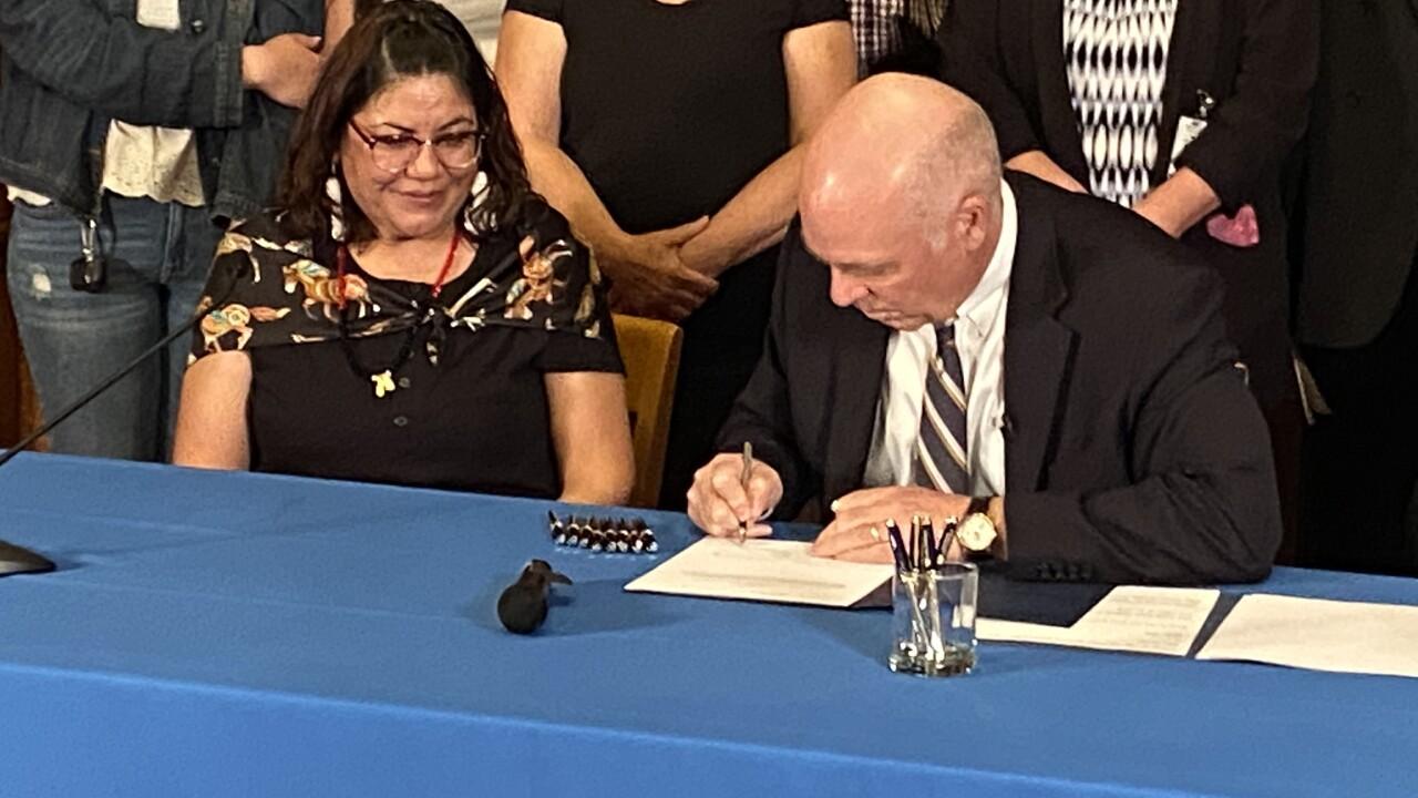 MMIP Bill Signing